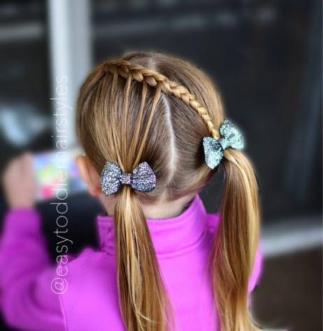 Прически в школу: фото