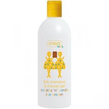 Шампунь-гель для душа для детей Ziaja Kids Shampoo and Shower Gel Cookies and Vanilla Ice Cream