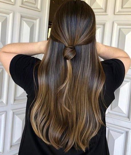 Окрашивание бронд на русых и темных волосах