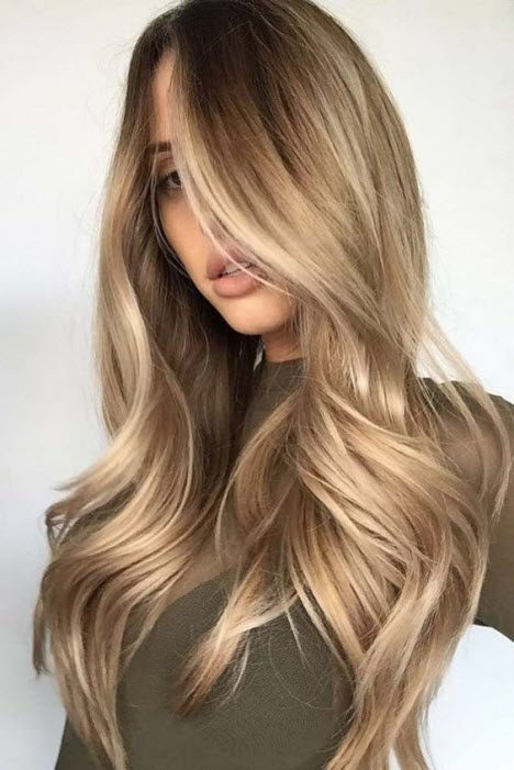 Брондирование волос на светлые и темные волосы