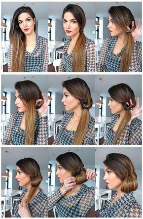 Прически на длинные волосы: пошаговые фото