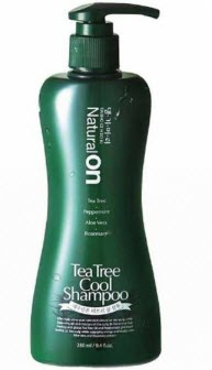 Охлаждающий шампунь на основе чайного дерева Daeng Gi Meo Ri naturalon Tea Tree Cool Shampoo