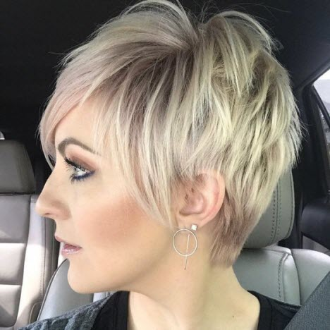 Фото коротких волос