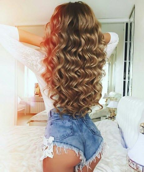 Фото на длинные волосы