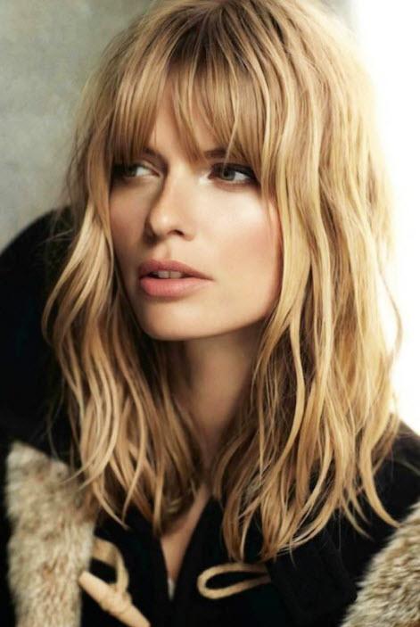 Фото средних волос