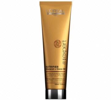 Термозащитный крем для сухих волос L'Oreal Professionnel Nutrifier Cream