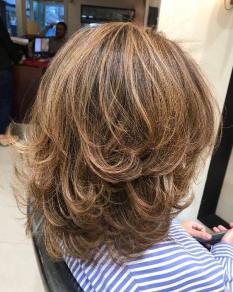 Окрашивание волос которое молодит