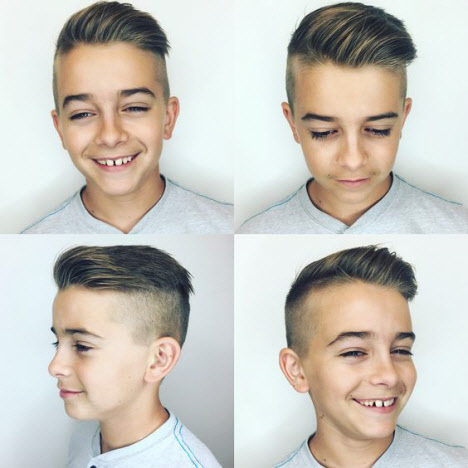 Стрижки для мальчиков: фото