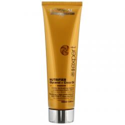 Питательный термозащитный крем для сухих и ломких волос L'Oreal Professionnel Nutrifier Blow Dry
