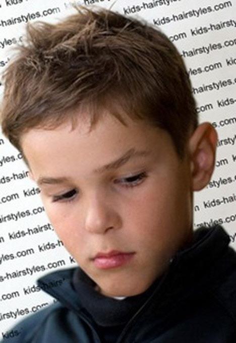 Стрижки для мальчиков 6-13 лет