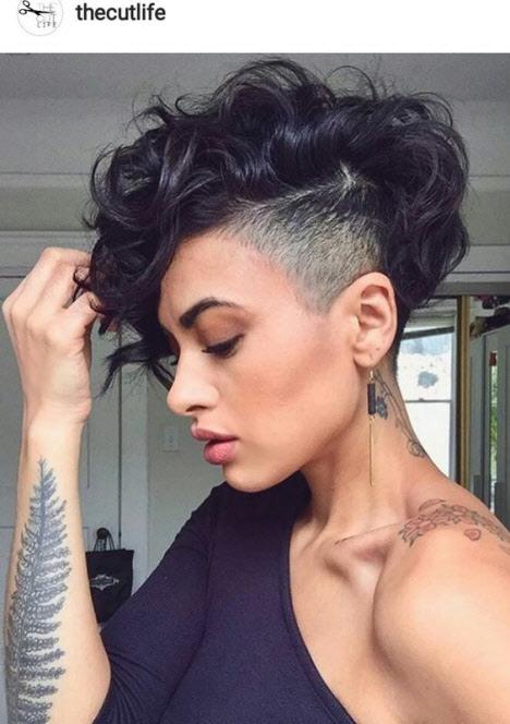Стрижки с удлиненной челкой на короткие волосы