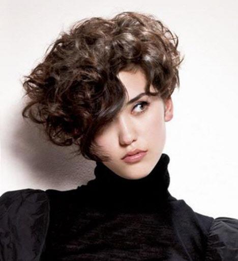 Короткие стрижки на волнистые (кудрявые) волосы