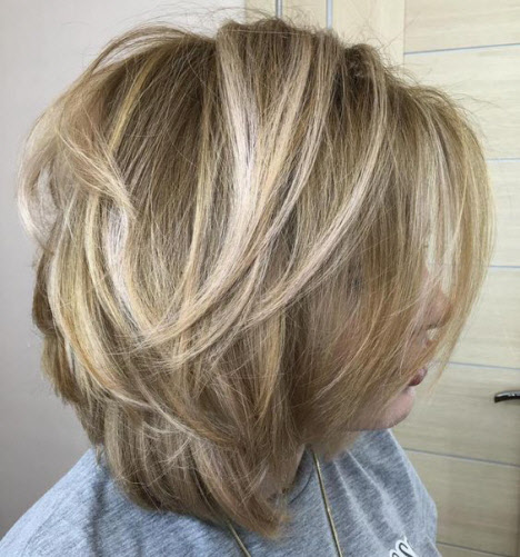 Стрижка каскад на короткие волосы