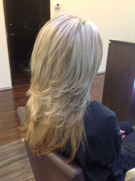 Стрижки на длинные волосы 2019