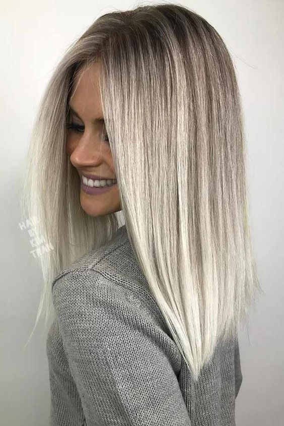 Фото: платиновый блонд
