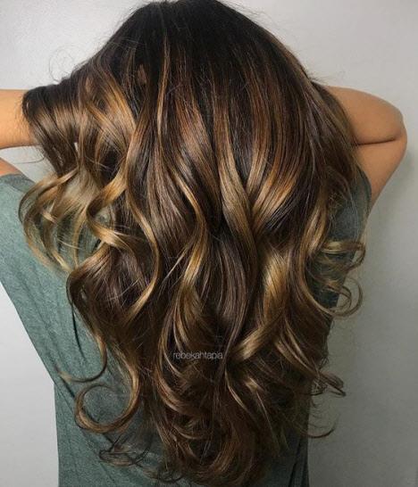 Красивые волосы: фото