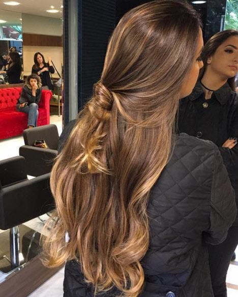 Красивые волосы: фотом