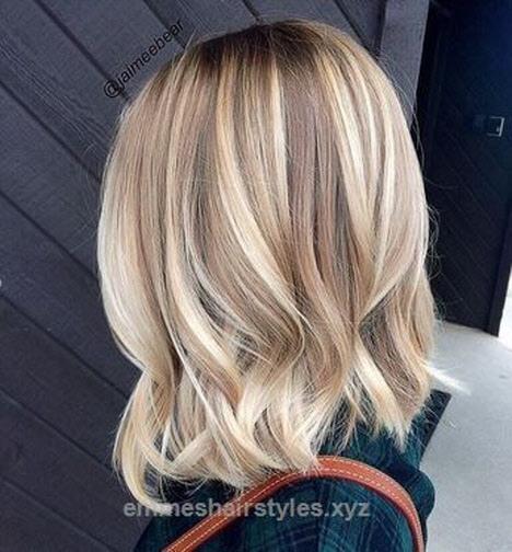 Модное окрашивание волос 2019 на средние волосы в 2019 году