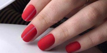 Красный маникюр: фото