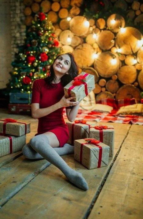 Идеи новогодней фотосессии