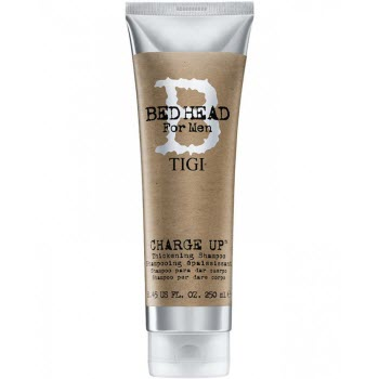Tigi B For Men Charge Up Thickening Shampoo - шампунь для мужчин уплотняющий волосы