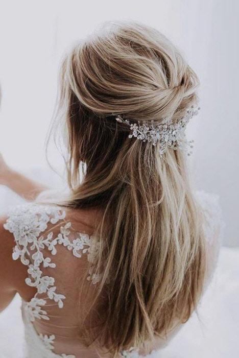 Свадебные прически 2019: фото