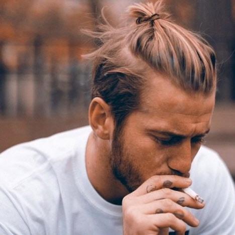 Мужские стрижки на длинные волосы 2019