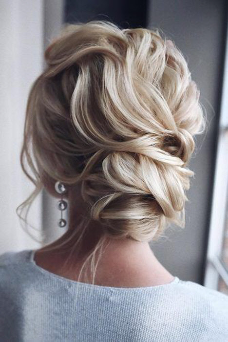 Свадебные прически на средние волосы