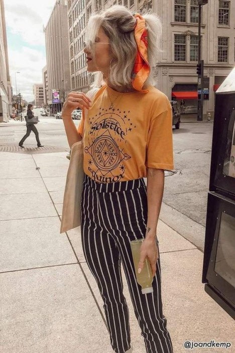 Прическа для волос с платком: фото