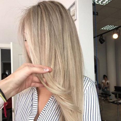 Фото окрашиванияАirTouch на светлых и темных волосах