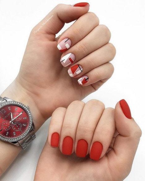 Красивый дизайн ногтей на короткие ногти 2019-2020