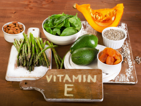 Витамин Е для волос и кожи