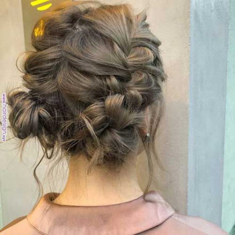 Прически в школу на средние волосы