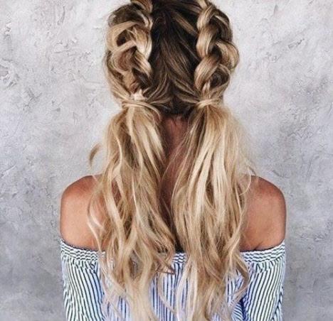 Прически в школу на длинные волосы