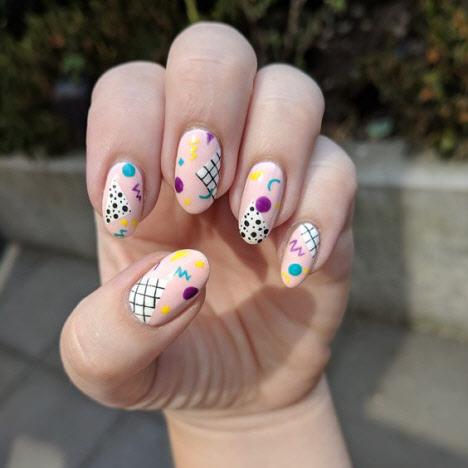 Фото смелого и модного дизайна ногтей 2019-2020