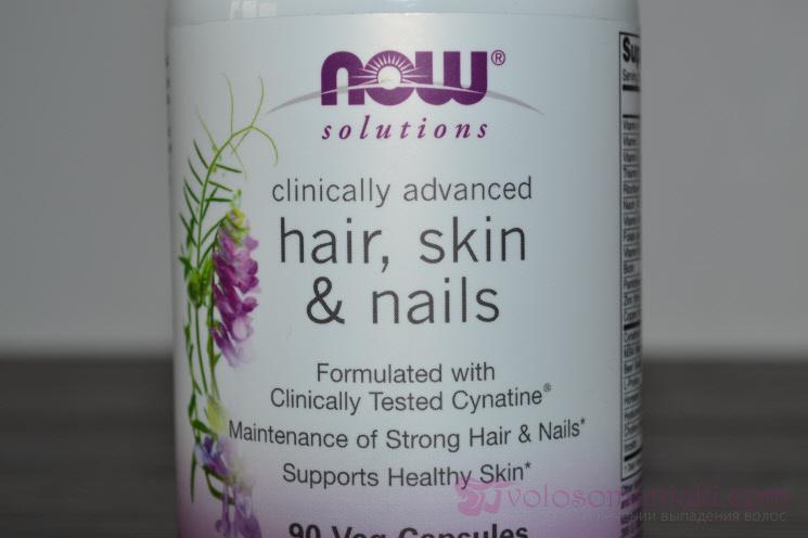 Комплекс Hair, Skin & Nails от Now Foods