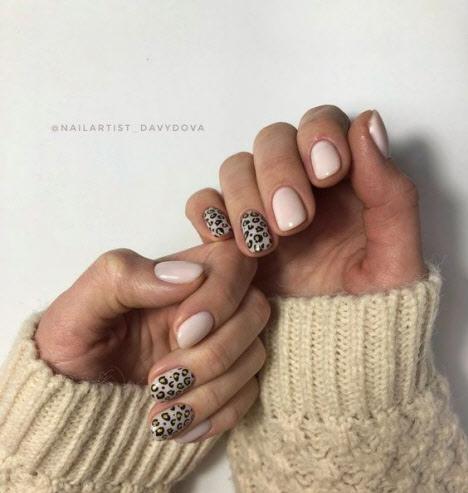 Зимний маникюр: фото 2020 на короткие и длинные ногти 2020