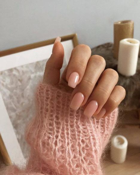 Зимний маникюр: фото 2020 на короткие и длинные ногти