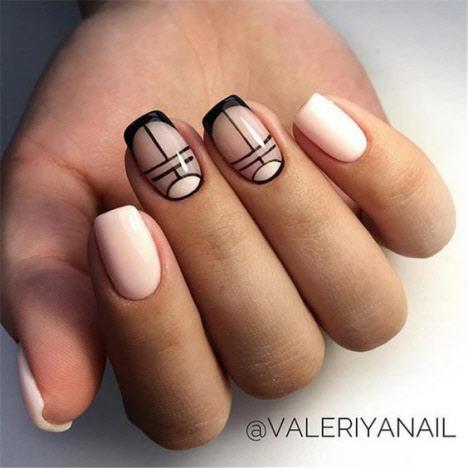 Фото красивого дизайна ногтей 2020 на квадратную форму