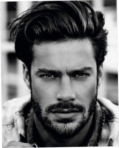 Мужские стрижки с бородой