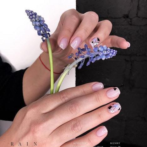 Квадратная форма ногтей: идеи красивого маникюра на короткие ногти сезона 2020