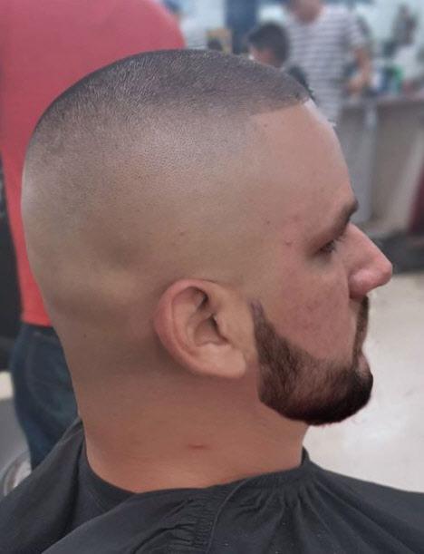 Короткая мужская стрижка без челки
