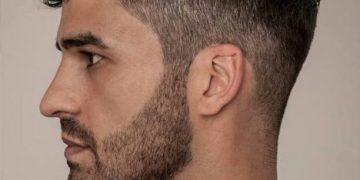 Мужская стрижка полубокс на кудрявые волосы