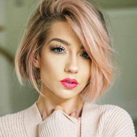 Модная стрижка каре 2020 на короткие и средние волосы