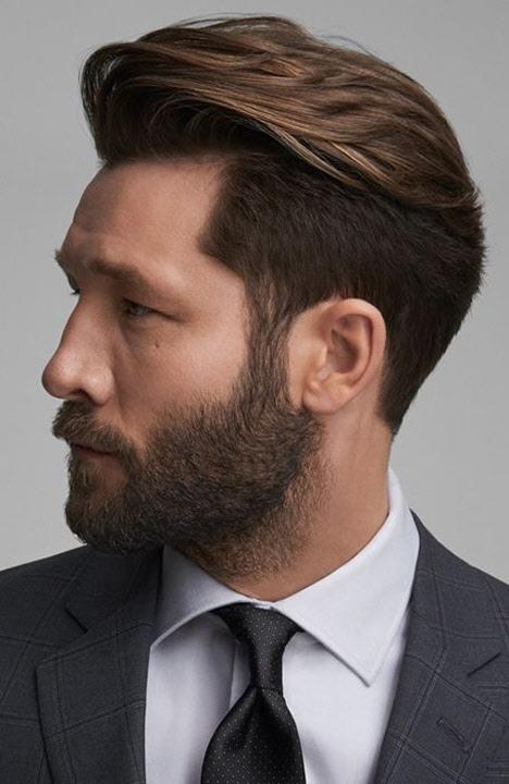 Модная мужская стрижка британка: идеи 2020