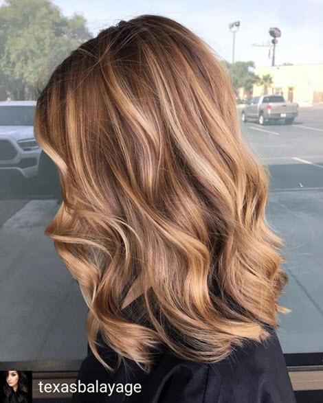 Колорирование волос: фото 2020