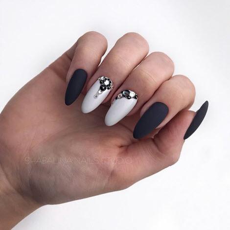 Красивый матовый дизайн ногтей: идеи 2020