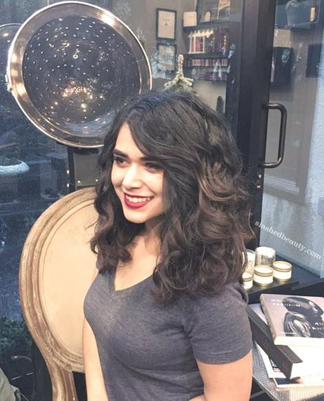 Прическа кудри на средние волосы