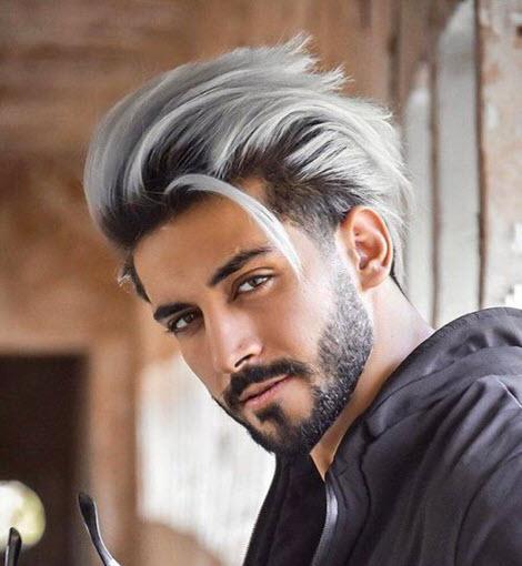 Мужские стрижки и прически на длинные волосы: фото 2020