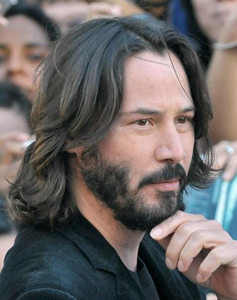 Мужские стрижки и прически на длинные волосы